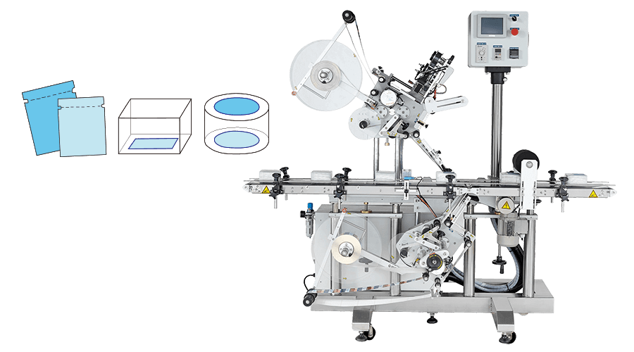 KWT-220 | Top and Bottom Panel Labeling Equipment